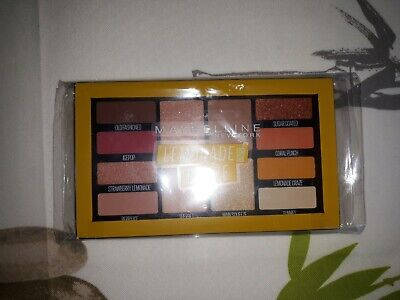 Palette Maybelline LEMONADE CRAZE neuve