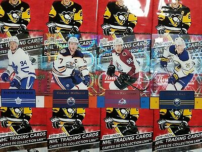 2019-20 Tim Hortons Clear Cut Phenoms (CC-1-CC-15) - YOU PICK FROM LIST