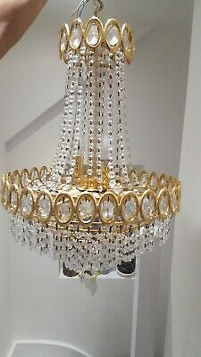 chandelier: Very fine and rare French, Louis XV period replica chandelier.