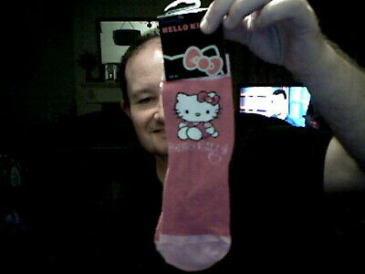 Hello Kitty Girl's Ankle Socks Size 12.5 - 3.5 Ideal Birthday Save The £££££S