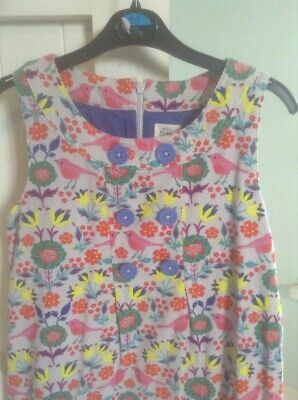 Mini Boden Pinafore 9-10 Worn Once Immaculate
