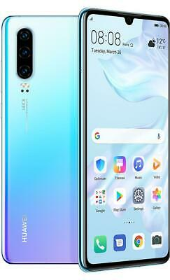 Huawei P30 128GB 6GB RAM Unlocked Android Smartphone Breathing Crystal Excellent