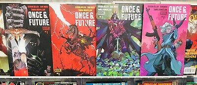 Once and & Future #1-1st, 3rd, 4th & 5th PRINT! 2019 Boom Studios! NM! Free ship
