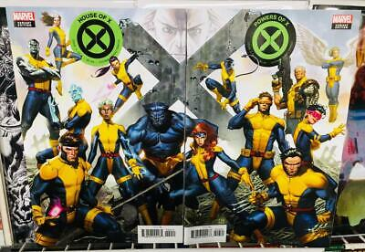 HOUSE OF X & POWERS OF X #4 MOLINA CONNECTING VARIANT SET! NM! Free shipping!
