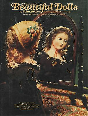 18th-20th Century Antique Doll Types incl. American German French / Scarce Book