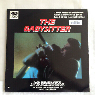 The Babysitter [laserdisc] 1980 HBO Video