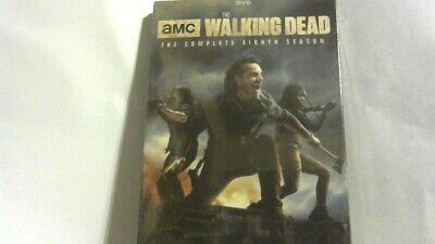 The Walking Dead: Season 8 Dvd Complete [5 Discs] -  Brand New & Free Shipping !