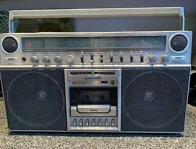Vintage Panasonic RX-5250 Ambience Boombox Radio Cassette Player Retro