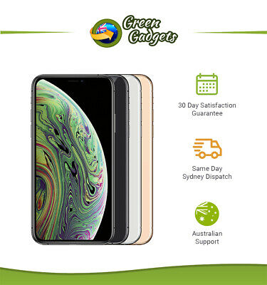 Apple iPhone XS Slightly Imperfect 64/256/512 GB Grey Silver Gold Unlocked