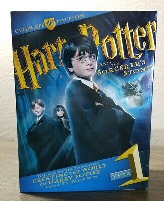 Harry Potter and the Sorcerers Stone - Ultimate Edition (DVD, 2009) Complete