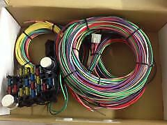 EZ Wiring 21 Circuit Universal Harness Street Rat Hot Rod Chevy Ford
