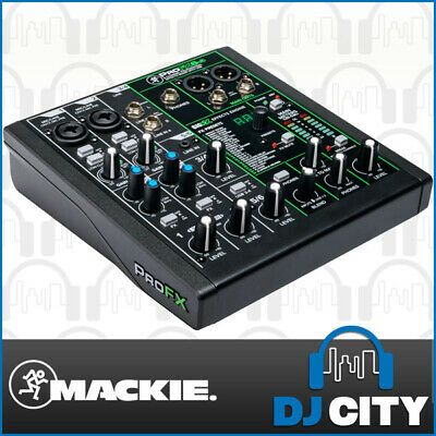 Mackie PROFX6V3 6 Channel Mixer with USB and Effects Mixing Desk