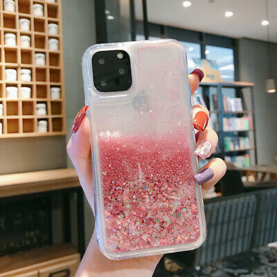 Diamond Dynamic Liquid Glitter Clear Soft Rubber Case Cover For Smart Cellphones