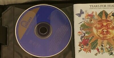 "Tears For Fears - ""Tears Roll Down: Greatest Hits 1982-1992"" CD, sleeve, no case"
