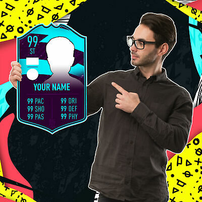 Personalised Player of the Month FUT Card - FIFA 20 Ultimate Team (Foamex Board)