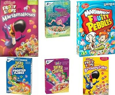 Assorted Cereal Variety (6 different cereals - see below in product description)