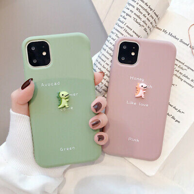 Case for iPhone 11 Pro Max 6 6S 7 Plus XS XR Flexible TPU Silicone Slim Cover