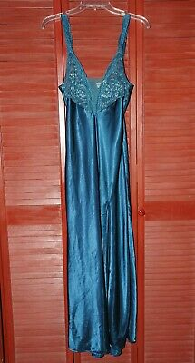 Victoria's Secret Size M Emerald Turquoise Long Gown - Beautiful!