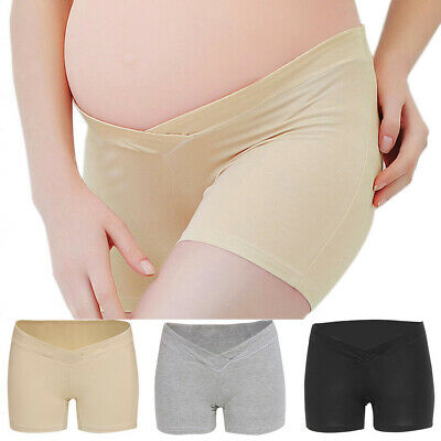 V-shape Underwear Short Panties Mother Comfy Underpants Solid Pregnant