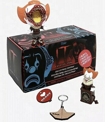 Funko Pop It Chapter 2 Pennywise Collectors Box Hot Topic Exclusive *Fast Ship*