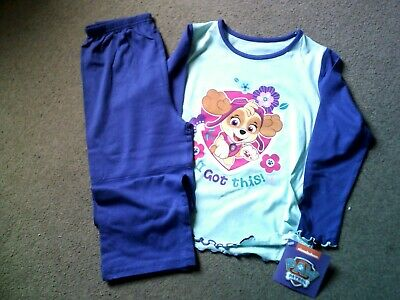 Girl's Character Long Pyjamas - Paw Patrol, SPK, Disney- Ages 18 mths - 9 Years