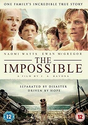 The Impossible [DVD] [2013] Good PAL Region 2