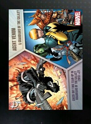 TOPPS MARVEL COLLECT Team-Ups Team Ups Digital Card Agent Venom Guardians Galaxy
