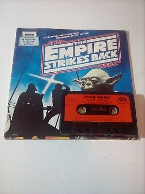 star wars the empire strikes back Book And Tape