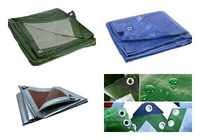 Waterproof Tarpaulin Extra Heavy Duty Professional Cover Roofing/ Ground Sheet
