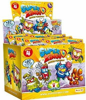 Superzings Series 4.  Box of 50 packs. Super Zings. Rivals Of Kaboom.