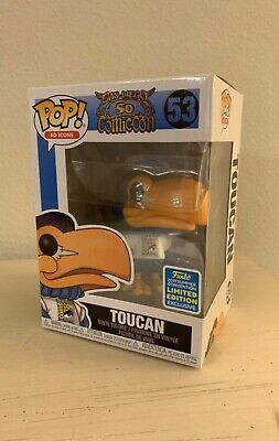 Funko Pop! Ad Icons #53 -- SDCC 2019 Toucan (Funko Shop Summer Convention)
