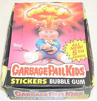 Topps Garbage Pail Kids All New 5th Series CARD BOX ONLY Adam Bomb GPK 1986