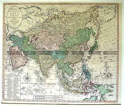 Antique Map 2-136 Asia by Bowles & Carver c.1794