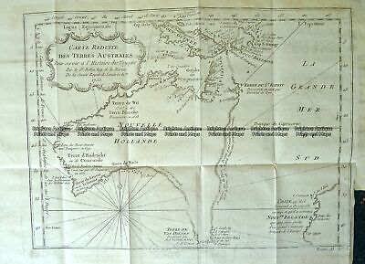 Antique Map 3-787 Australia by Bellin French edition