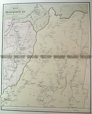 Antique Map 3-951 Queensland - Gregory South, Mitchell & Warrego c.1886