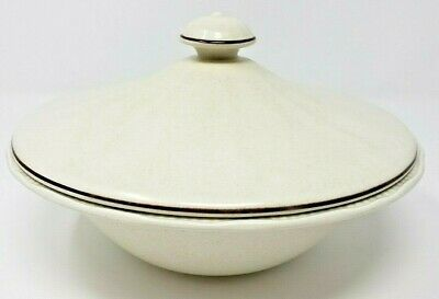 Kensington Staffordshire Sommerset Ironstone Vegetable Bowl Dish w/Cover Round