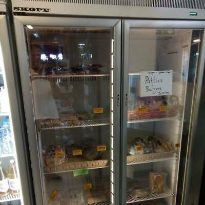 SKOPE commercial freezer, in top condition, recently serviced
