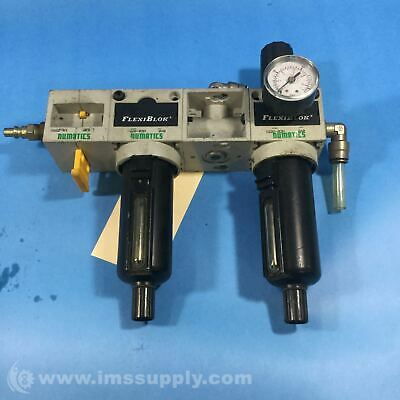 Numatics C22D-03M Coalescing Filter/Regulator 3/8 NPTF 35 SCFM 7753