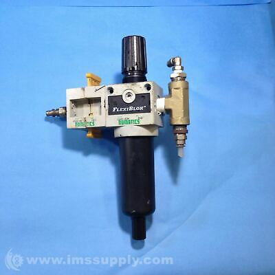Numatics C22D-03M Coalescing Filter/Regulator 3/8 NPTF 35 SCFM 7778
