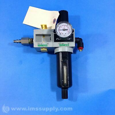 Numatics C22D-02M Coal Filter Regulator 7752
