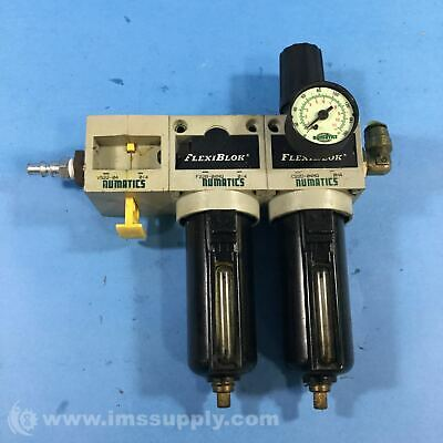 Numatics C22D-04MQ Flexiblok Pneumatic Filter 7774