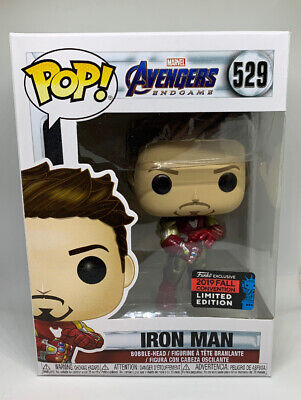 Funko Iron Man ( With Gauntlet) Pop NYCC 2019 *IN HAND*