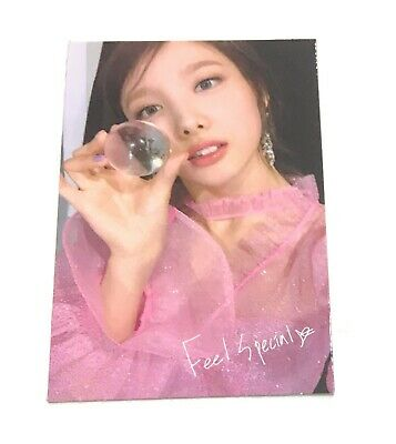 TWICE 8th Mini Album Nayeon Feel Special Official Photocard Nayeon With tracking