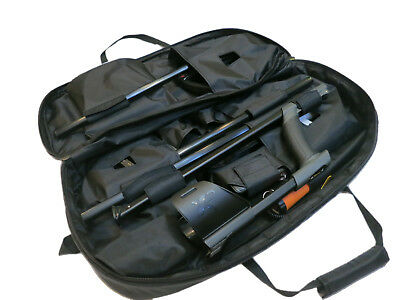 XP Deus Metal Detector Carry Bag Transport Soft Case Black