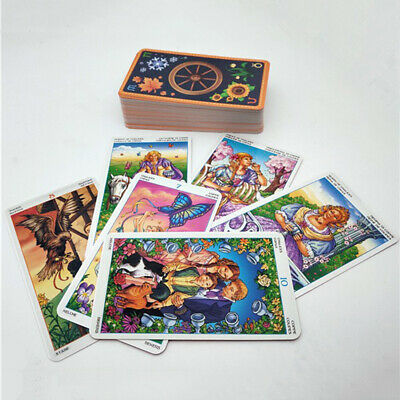 78 Wheel Of The Year Tarot Card Oracle Dancing w/ The Seasons Deck Cards Game ZE