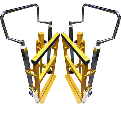 2 x 1.8 Tonne HYDRAULIC FURNITURE MOVERS - 250mm LIFTING HEIGHT others 100mm