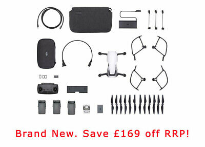 DJI Mavic Air Fly More Combo, Arctic White. UK Stock!! £879 Free Delivery