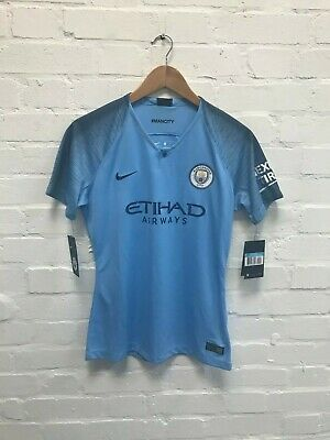 Manchester City Nike Women's 2018/19 Home Shirt - M - Sterling 7 - New