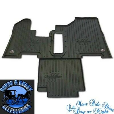 peterbilt floor mats 2004 to 2005 357 378 379 385 manual trans minimizer new