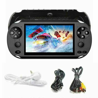 Portable X9 Handheld Video Game Console 128 Bit Built In 1000 Game Kids Player